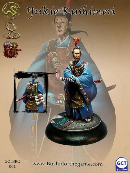 Bushido Miniatures: Yukio Koshimori, Emperors Envoy