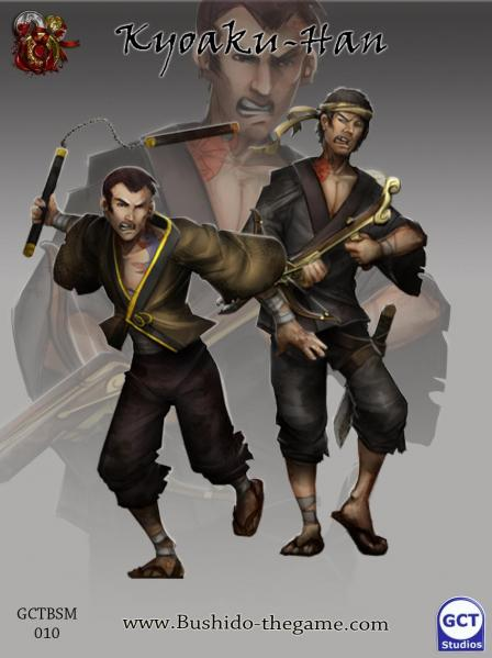 Bushido Miniatures: (Silvermoon Trade Syndicate) Kyoaku-Han