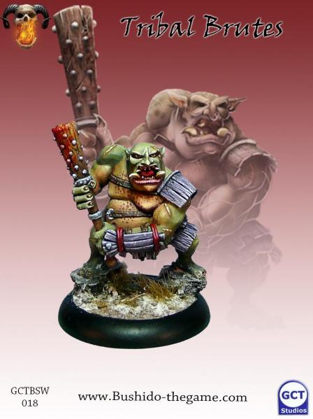 Bushido Miniatures: (Savage Wave) Tribal Brutes