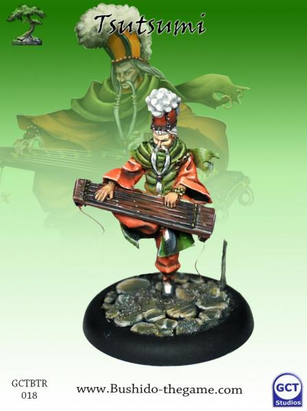 Bushido Miniatures: (Temple Of Ro-Kan) Tsutsumi